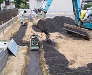 地盤調査・補強工事イメージ